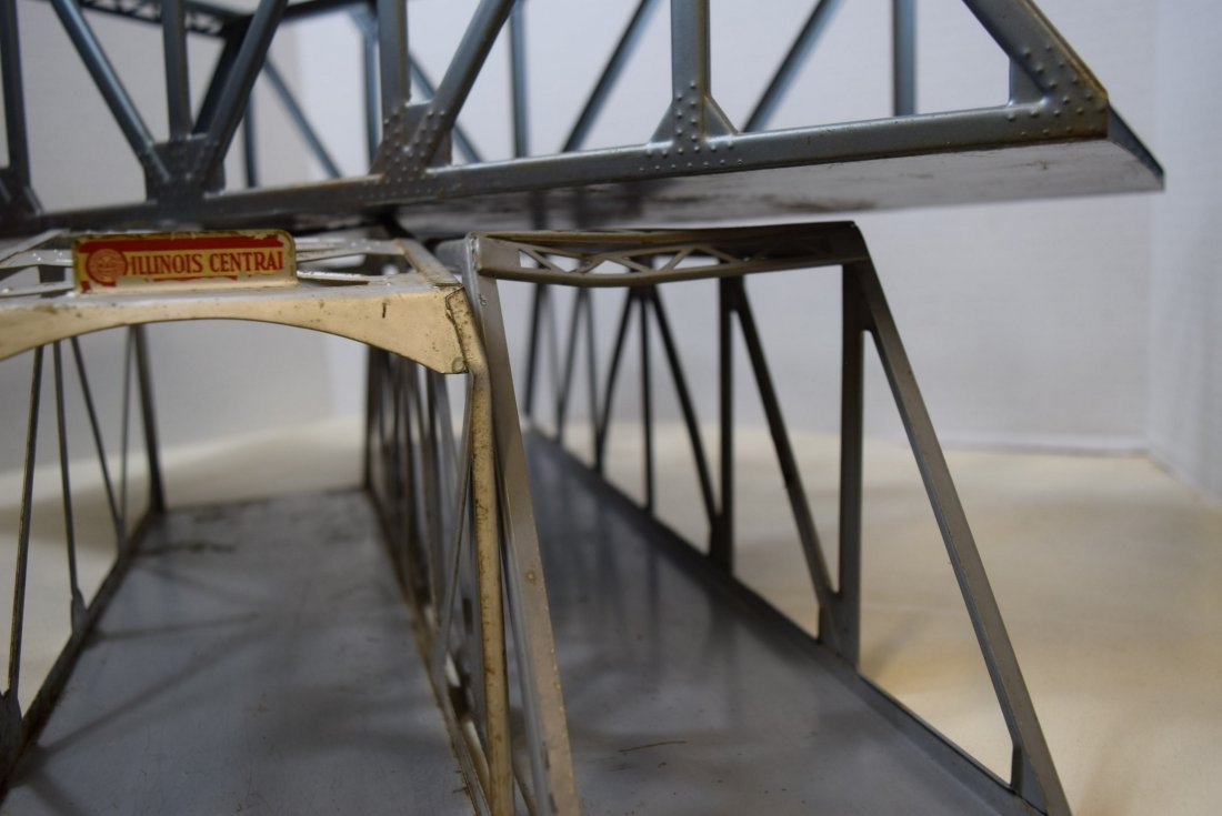 AMERICAN FLYER DOUBLE TRACK TRUSS BRIDGE WITH LIGH - 3