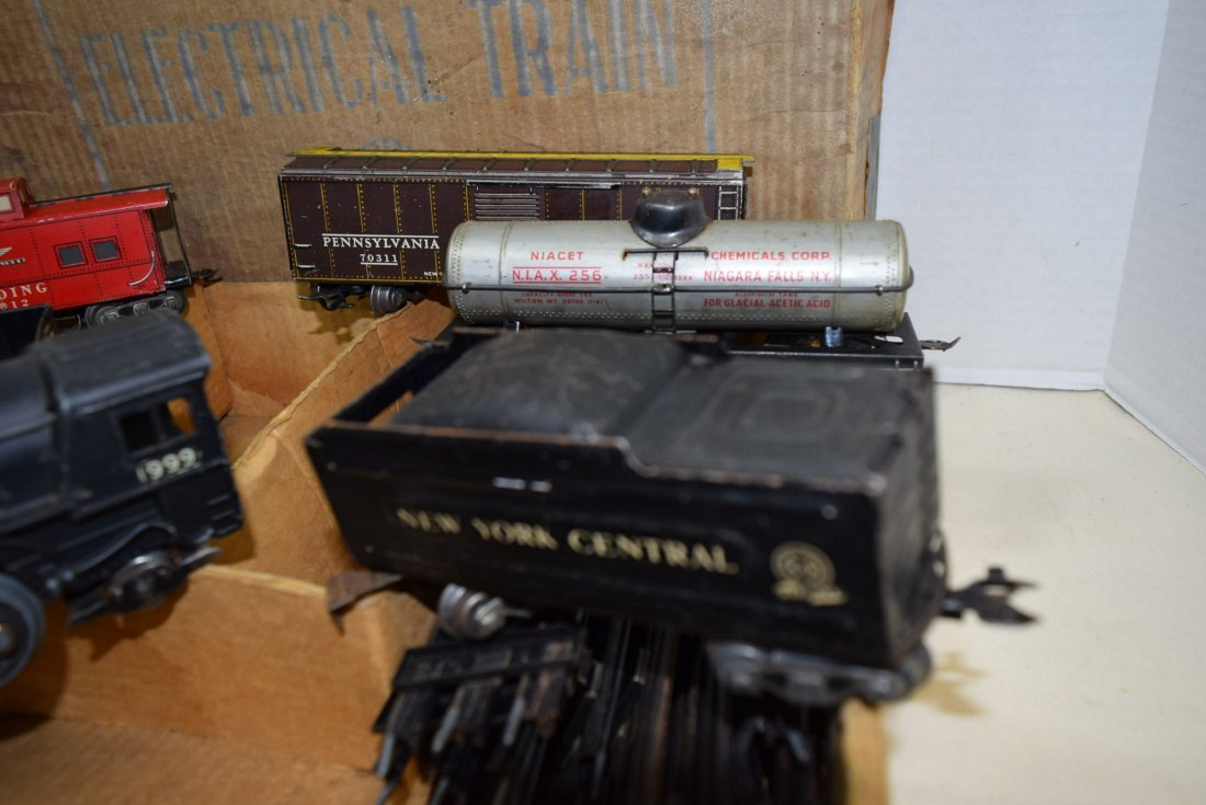 MARX STREAM LINE ELECTRICAL TRAIN SET - 8