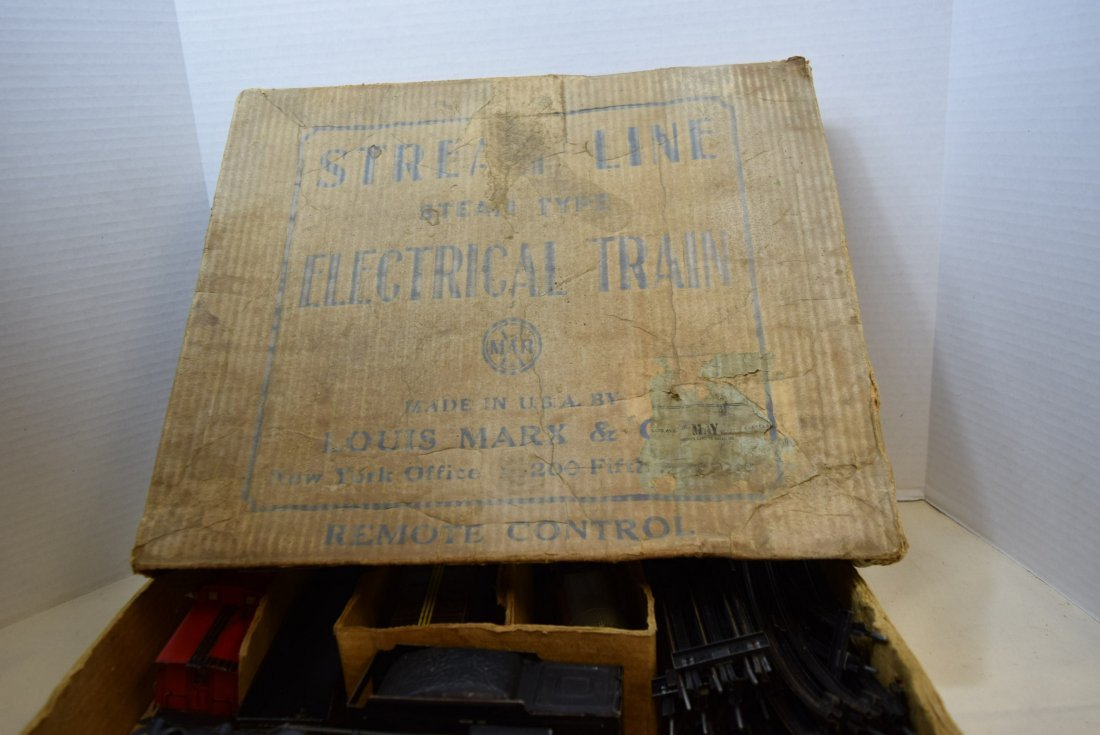 MARX STREAM LINE ELECTRICAL TRAIN SET - 9