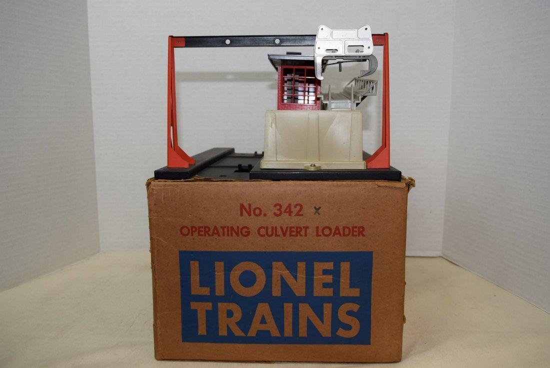 LIONEL TRAIN OPERATING CULVERT LOADER IN ORIGINAL - 3