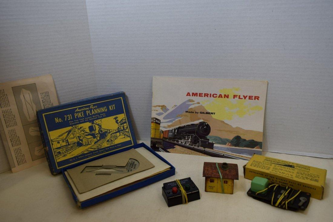 AMERICAN FLYER LOT- 1955 AMERICAN FLYER CATALOG-UN