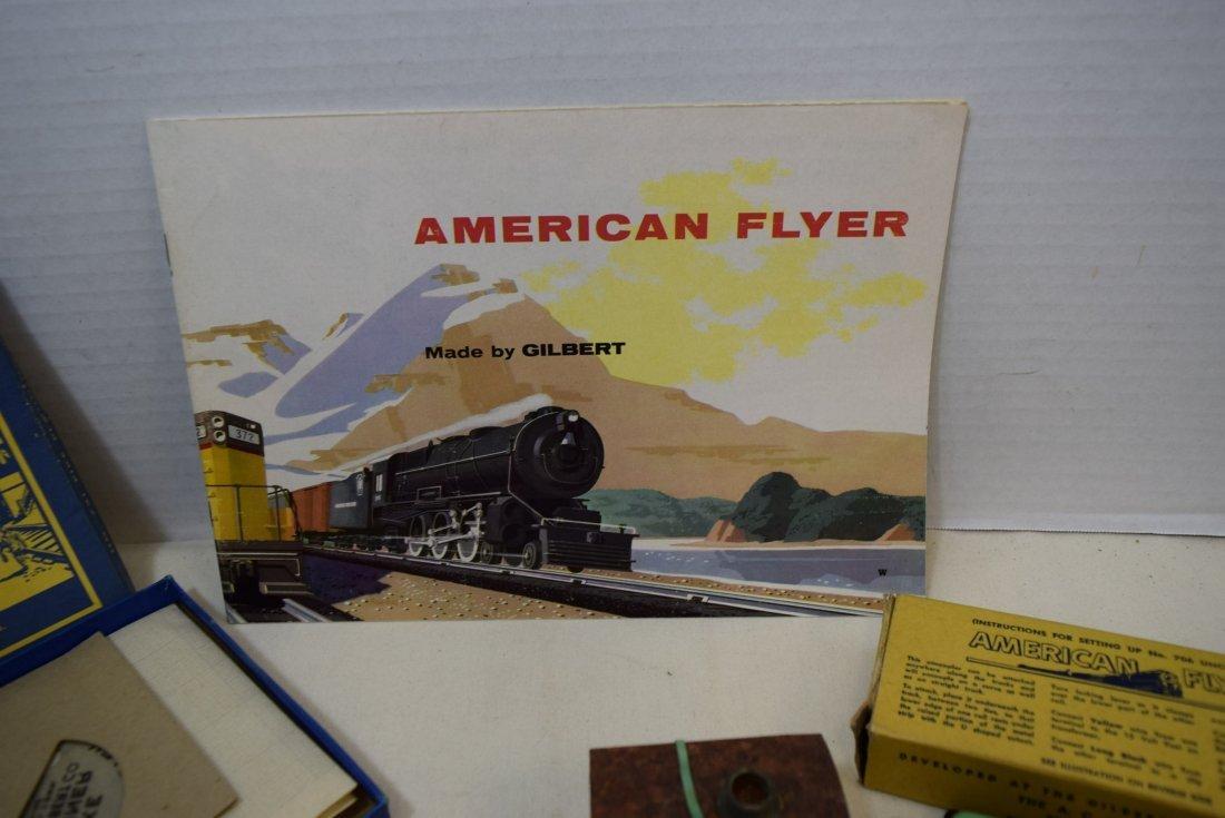 AMERICAN FLYER LOT- 1955 AMERICAN FLYER CATALOG-UN - 4