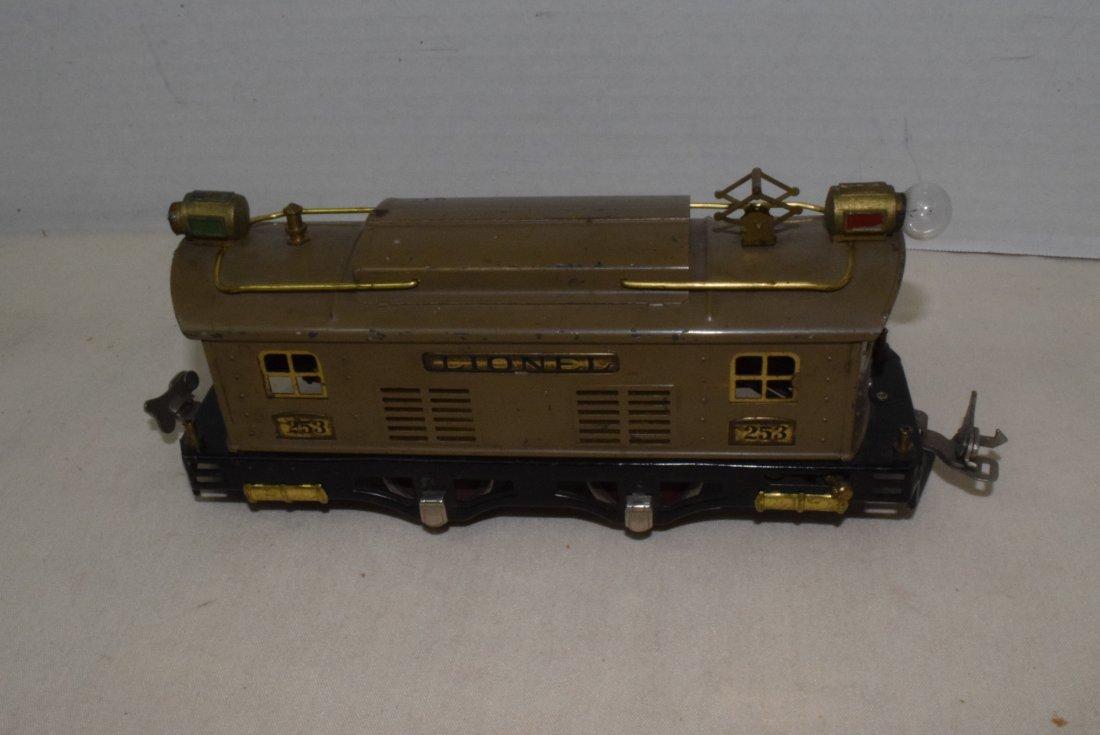 LIONEL PREWAR O-GAUGE TRAIN 253
