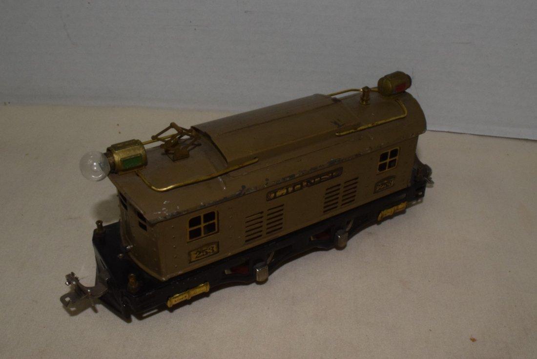 LIONEL PREWAR O-GAUGE TRAIN 253 - 3