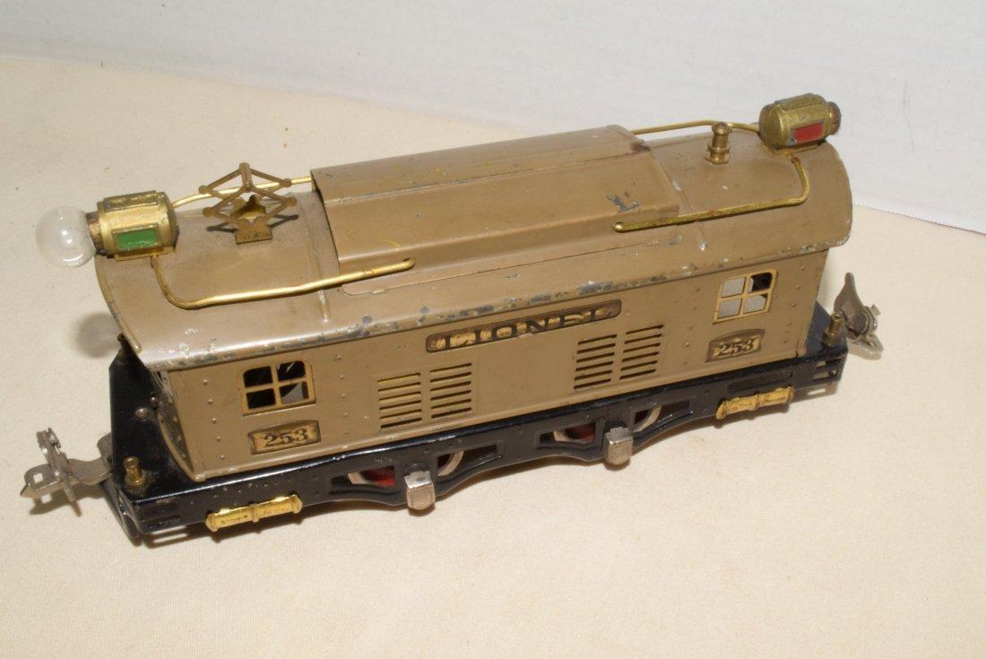 LIONEL PREWAR O-GAUGE TRAIN 253 - 4