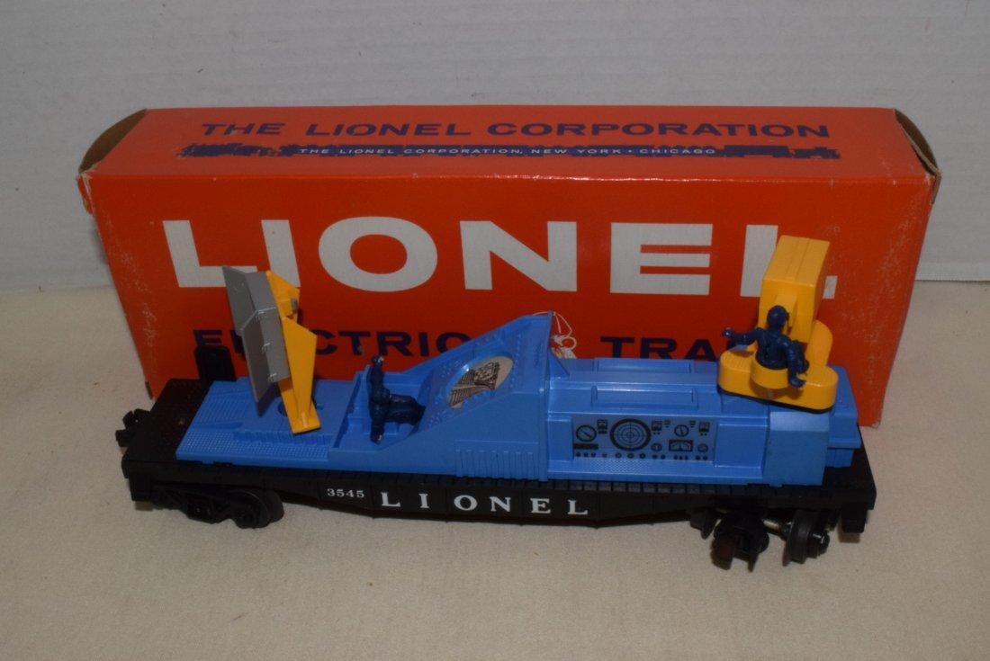 LIONEL TRAIN OPERATING TV MONITOR CAR 3545 IN BOX