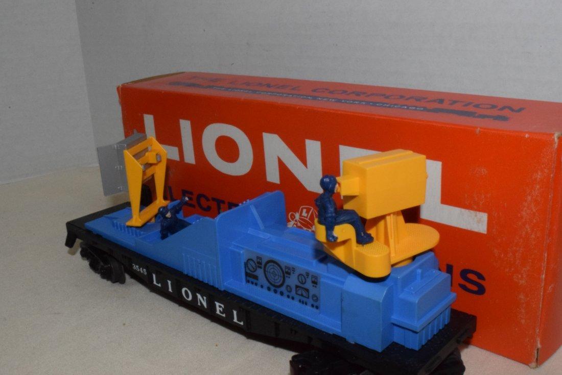 LIONEL TRAIN OPERATING TV MONITOR CAR 3545 IN BOX - 2
