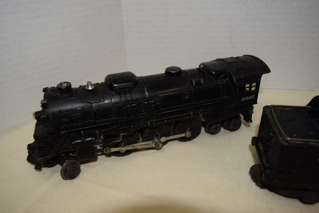 LIONEL LOCOMOTIVES 2037 & 246 - WHISTLING TENDER - 2