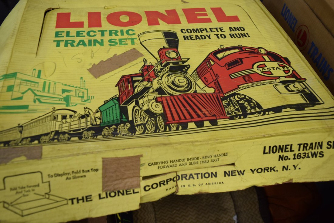 LIONEL TRAIN SET 1631WS - 3