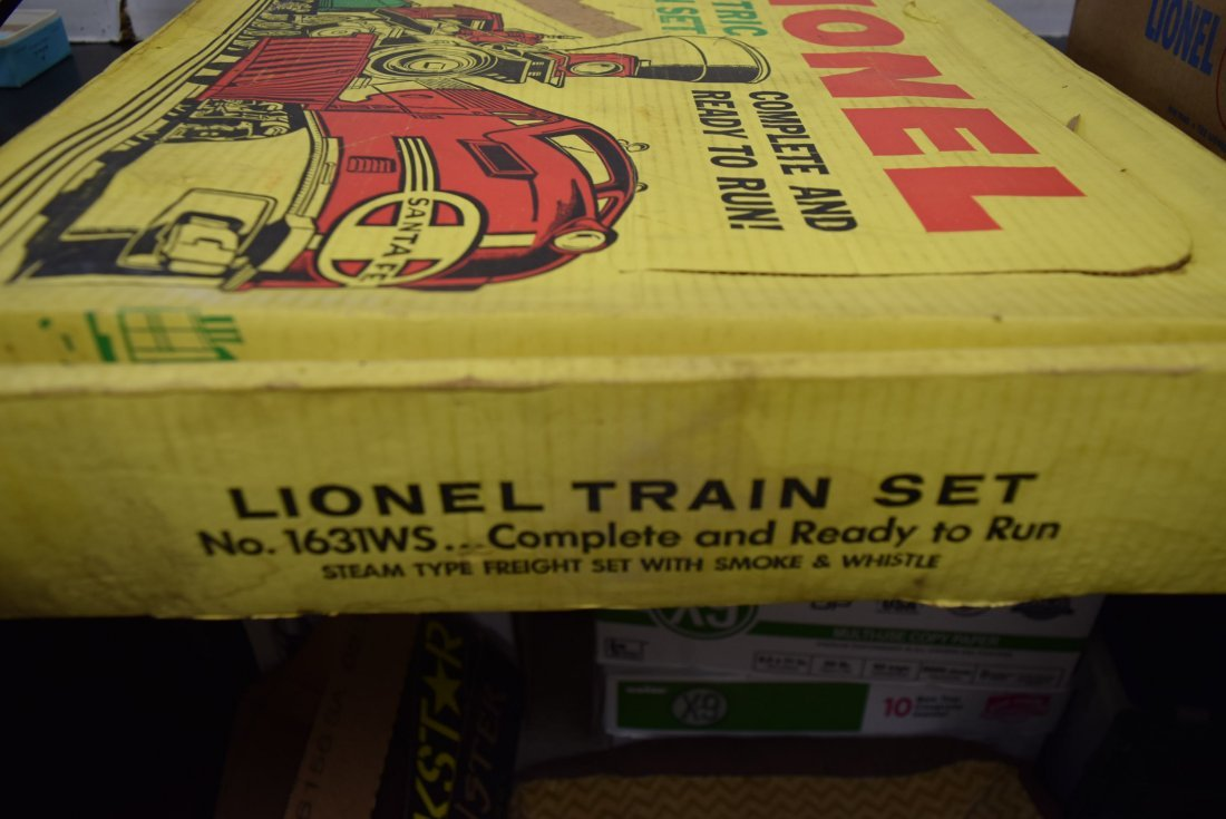 LIONEL TRAIN SET 1631WS - 4