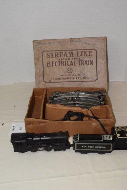 MARX STREAM LINE ELECTRIC TRAIN