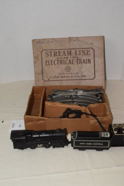 MARX STREAM LINE ELECTRIC TRAIN