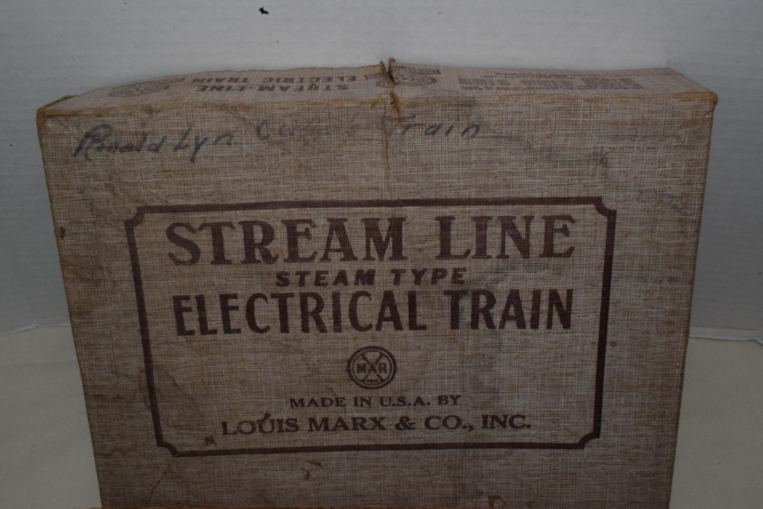 MARX STREAM LINE ELECTRIC TRAIN - 7