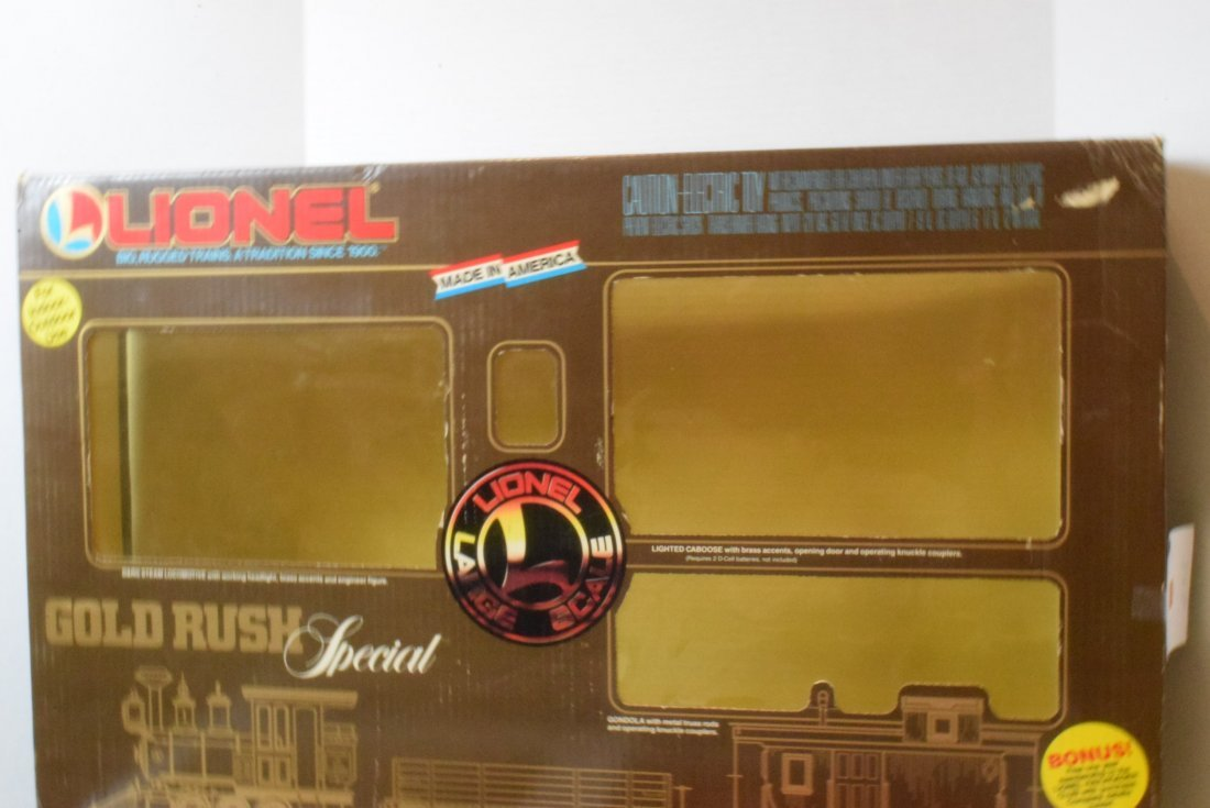 LIONEL GOLD RUSH SPECIAL TRAIN SET 8-81000 & EXTRA - 4