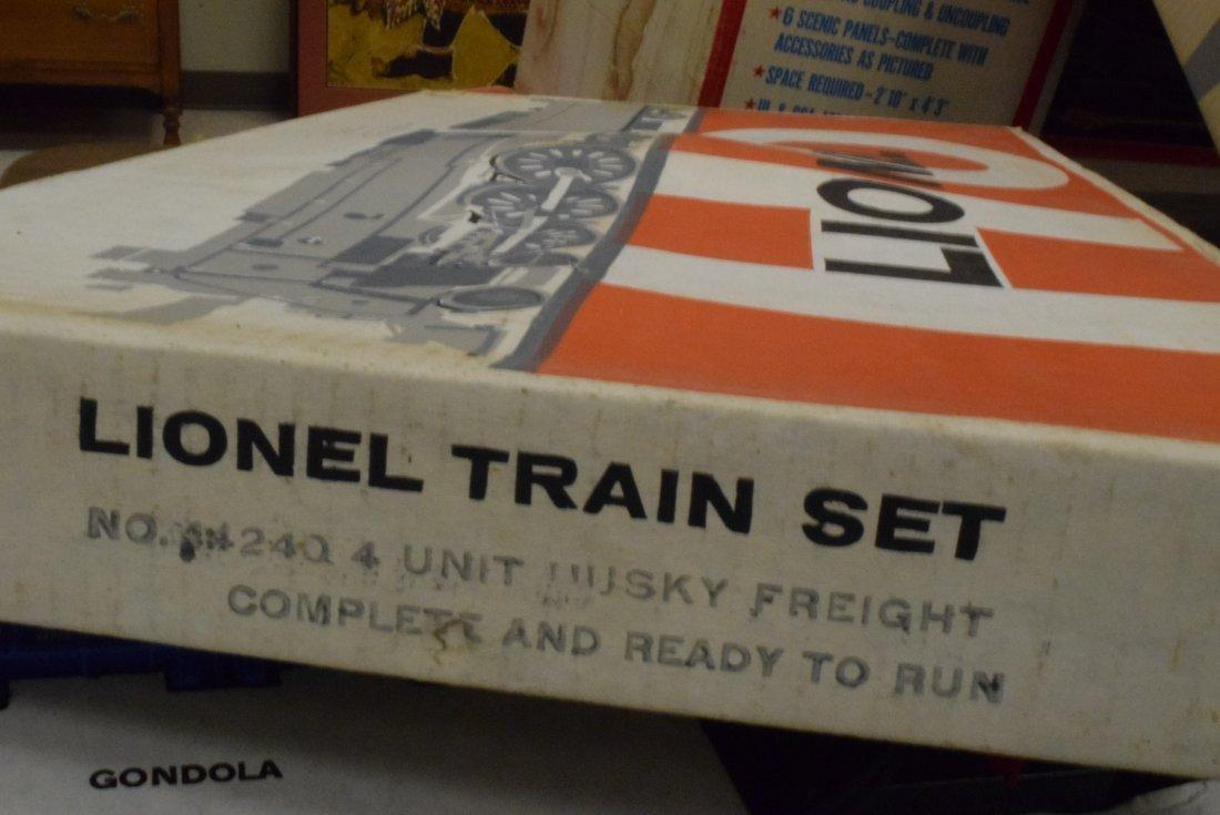 LIONEL HO SET 14240 HUSKY SET - 5