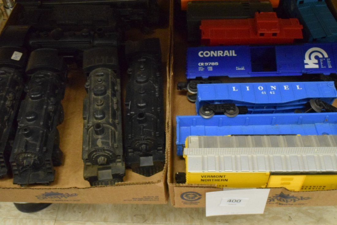 VARIOUS ENGINES -CONRAIL; VERMONT NORTHERN & MORE