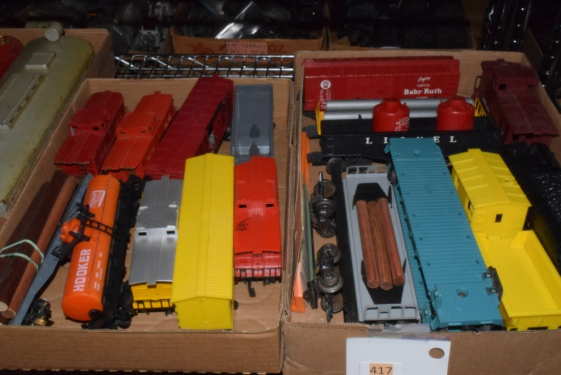 VARIOUS TRAINS-DIFFERENT SCALES & MAKERS