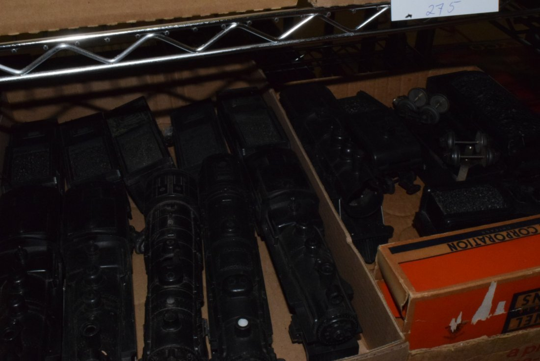 LARGE LOT OF VARIOUS AMERICAN FLYER & LIONEL LOCO'