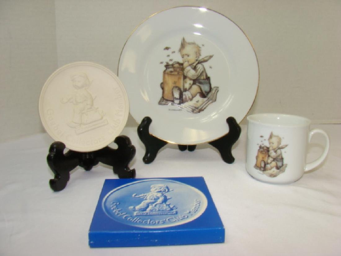 CHILD'S CUP & PLATE-HUMMEL & MORE