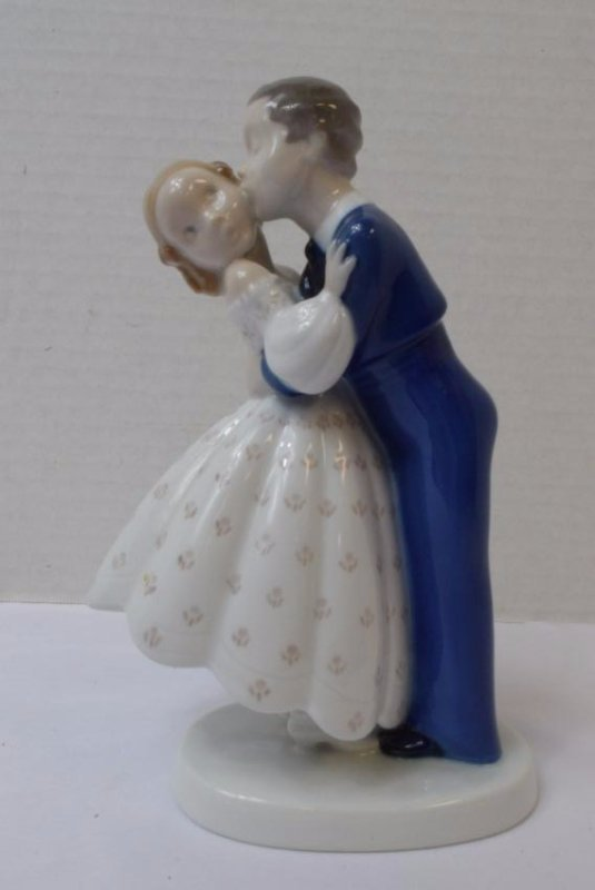BING & GRENDAHL-BOY & GIRL FIGURINE