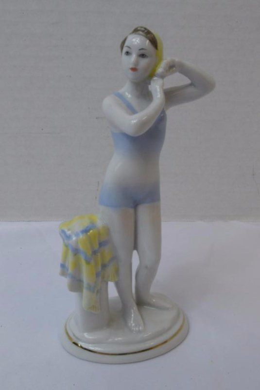 LOMONOSOV ART DECO BATHING BEAUTY