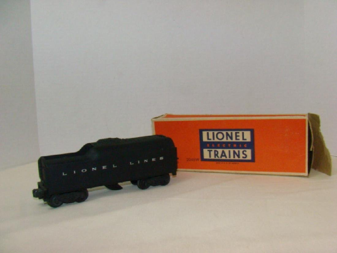 LIONEL  2046W TENDER WITH WHISTLE - ORIGINAL BOX