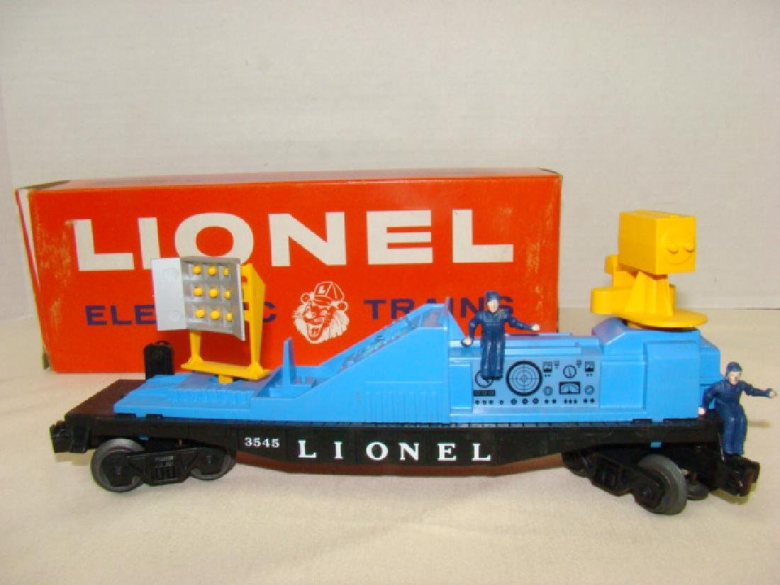 NIB -OPERATING TV MONITOR CAR 3545 BY LIONEL TRAIN