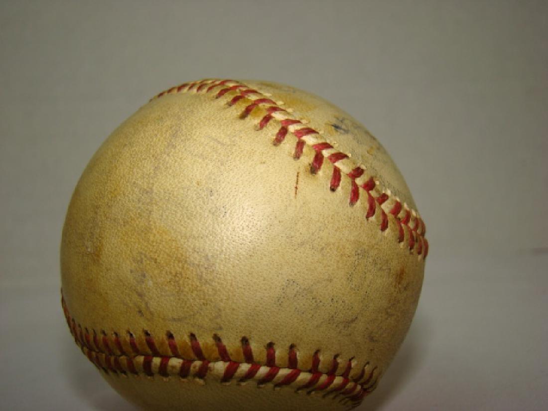 1950'S TEAM SIGNED BASEBALL -SACRAMENTO SOLONS - 8