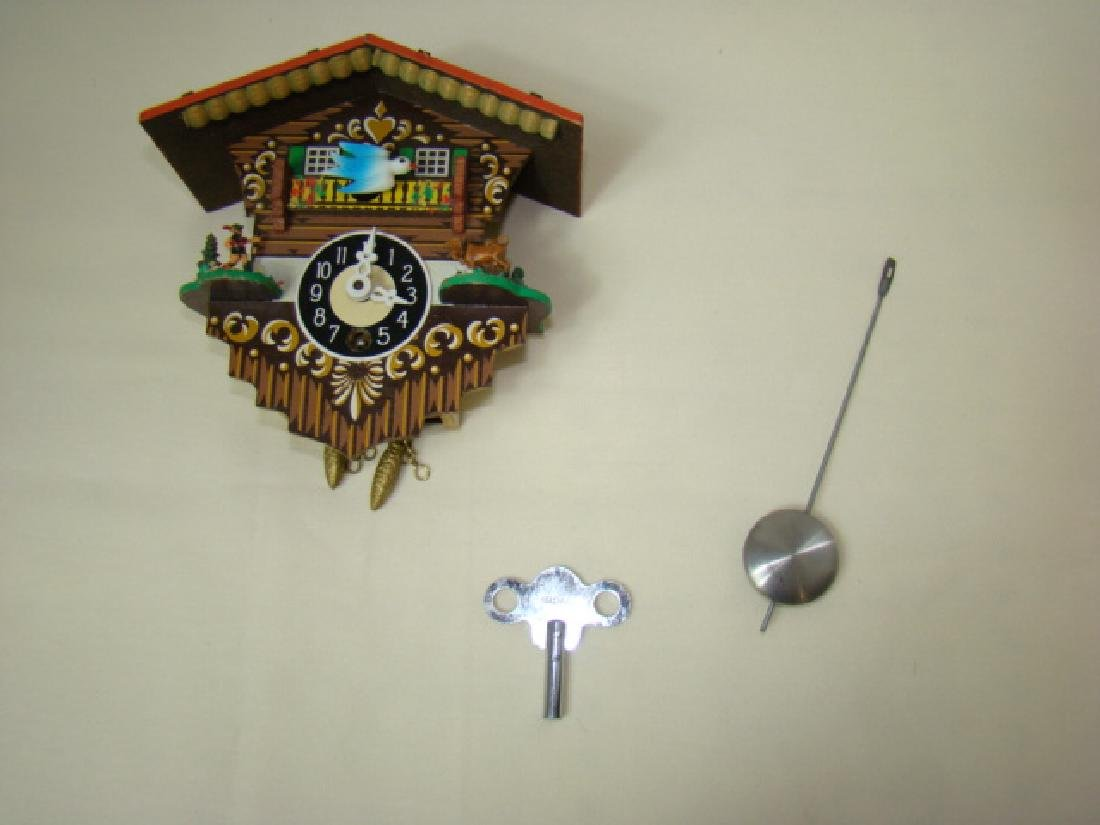 MINIATURE COO COO CLOCK