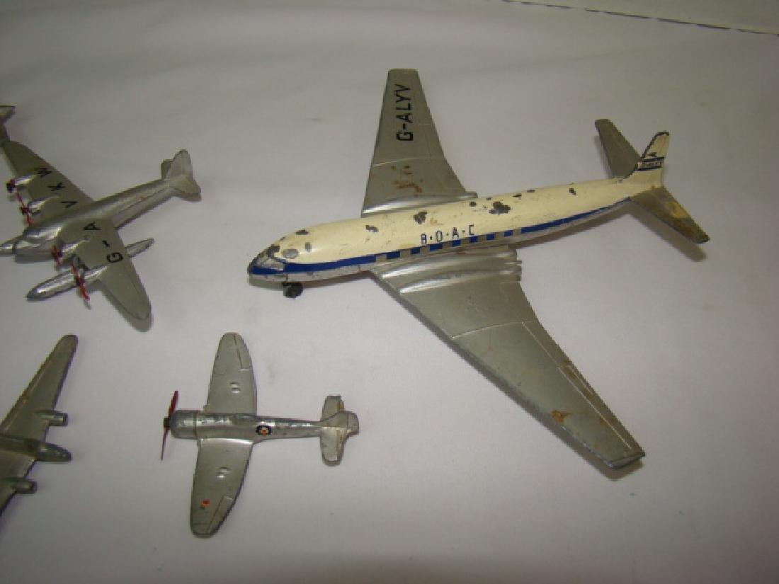 7 VINTAGE DINKY TOY AIRPLANES - 2