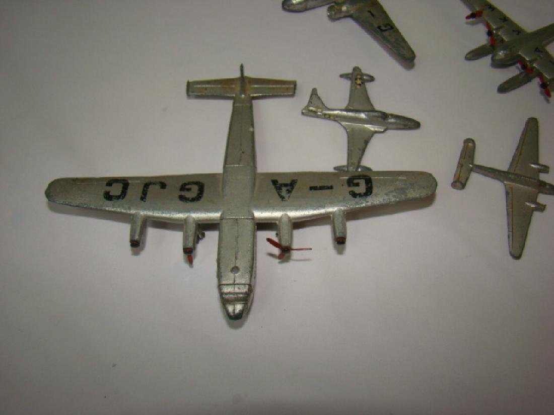 7 VINTAGE DINKY TOY AIRPLANES - 4
