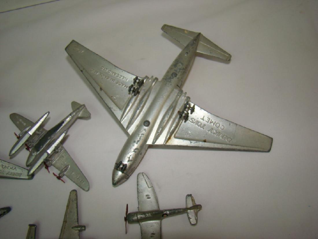 7 VINTAGE DINKY TOY AIRPLANES - 5