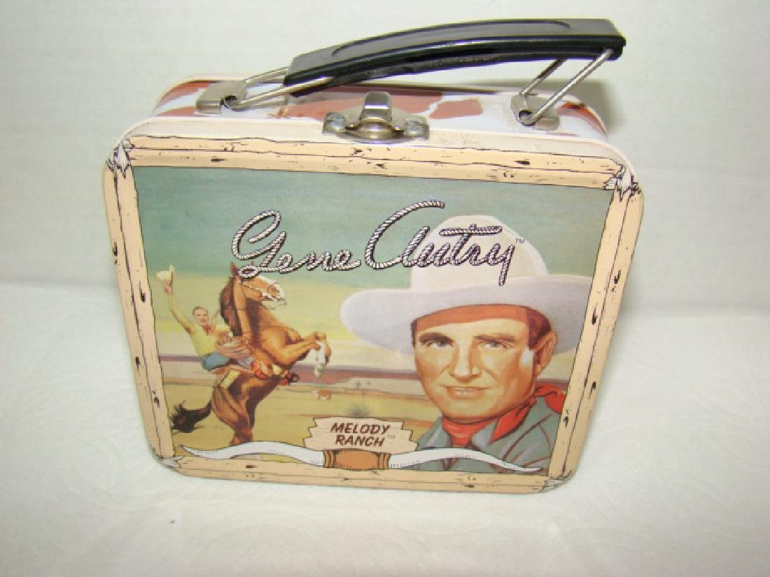NEW GENE AUTRY COLLECTOR WATCH IN ORIGINAL LUNCHBO - 5
