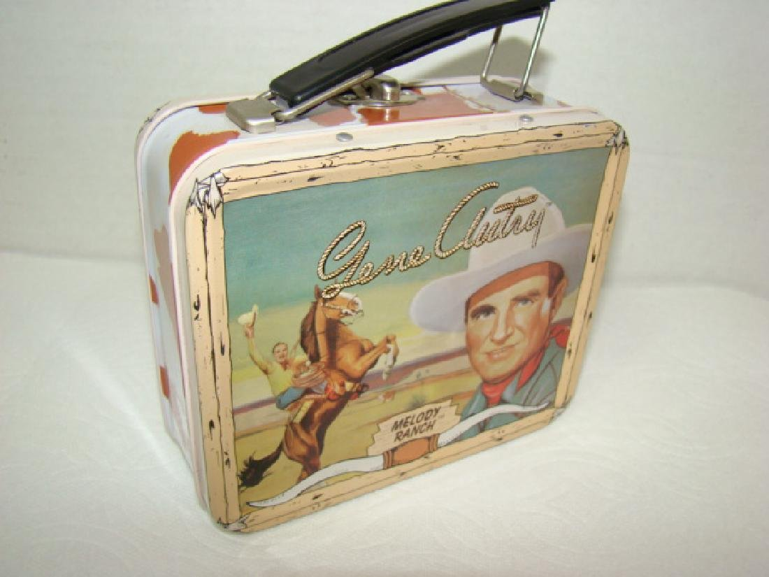 NEW GENE AUTRY COLLECTOR WATCH IN ORIGINAL LUNCHBO - 6