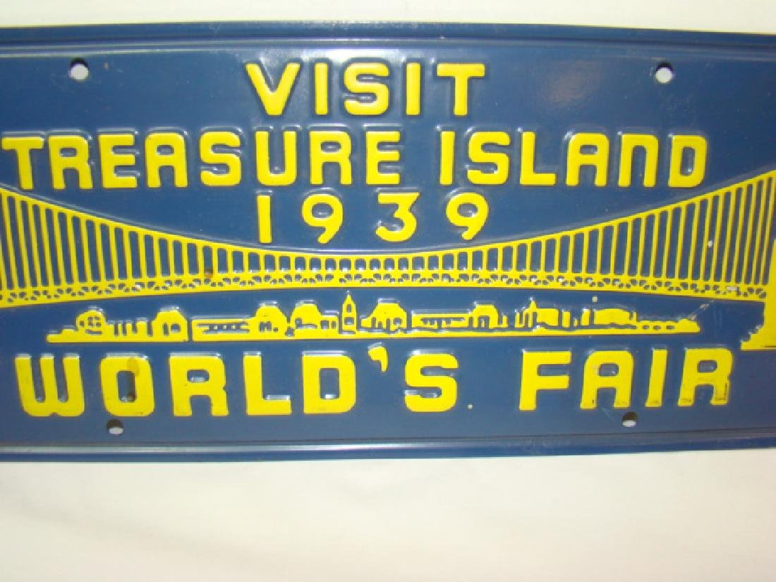 1939 VISIT TREASURE ISLAND WORLD'S FAIR ADVERTISIN - 2