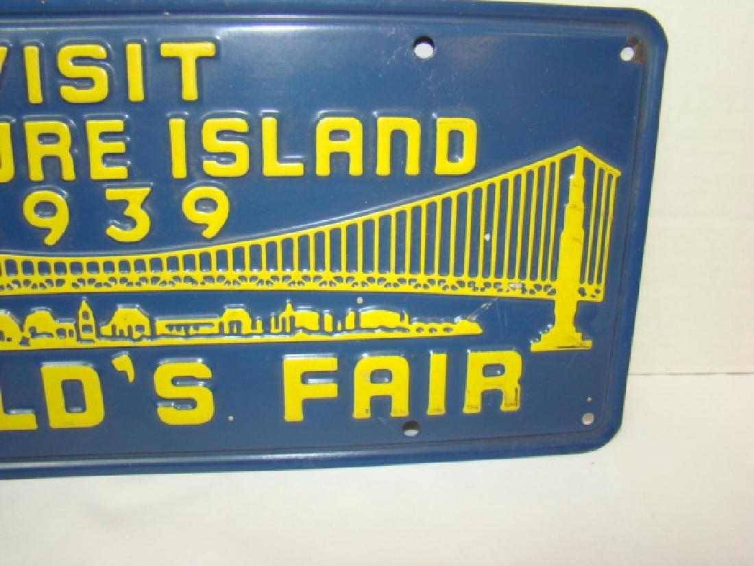 1939 VISIT TREASURE ISLAND WORLD'S FAIR ADVERTISIN - 3