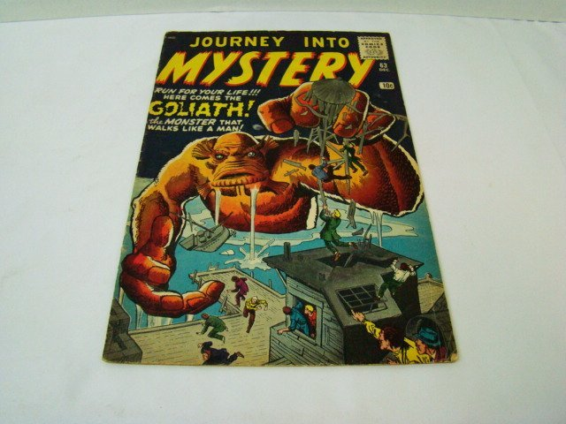 1952 JOURNEY INTO MYSTERY 10 CENT COMIC BOOK