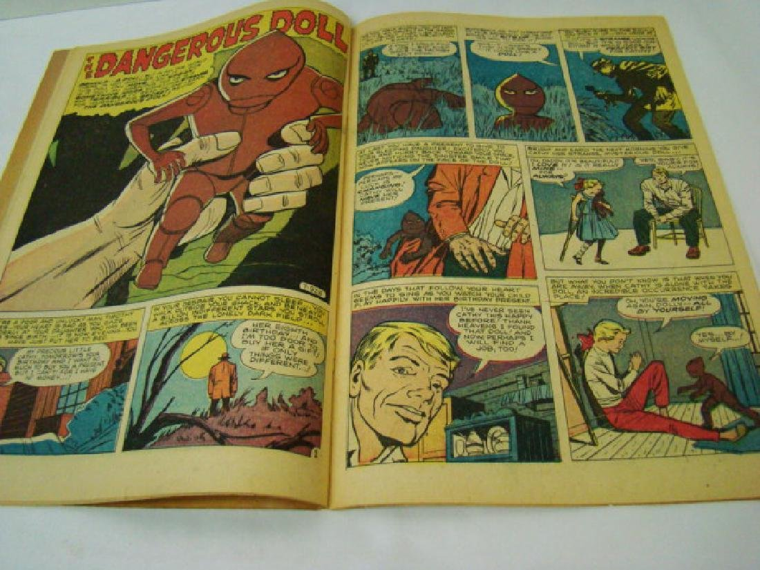 1952 JOURNEY INTO MYSTERY 10 CENT COMIC BOOK - 5
