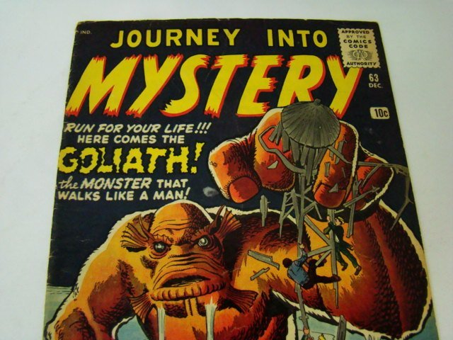 1952 JOURNEY INTO MYSTERY 10 CENT COMIC BOOK - 8