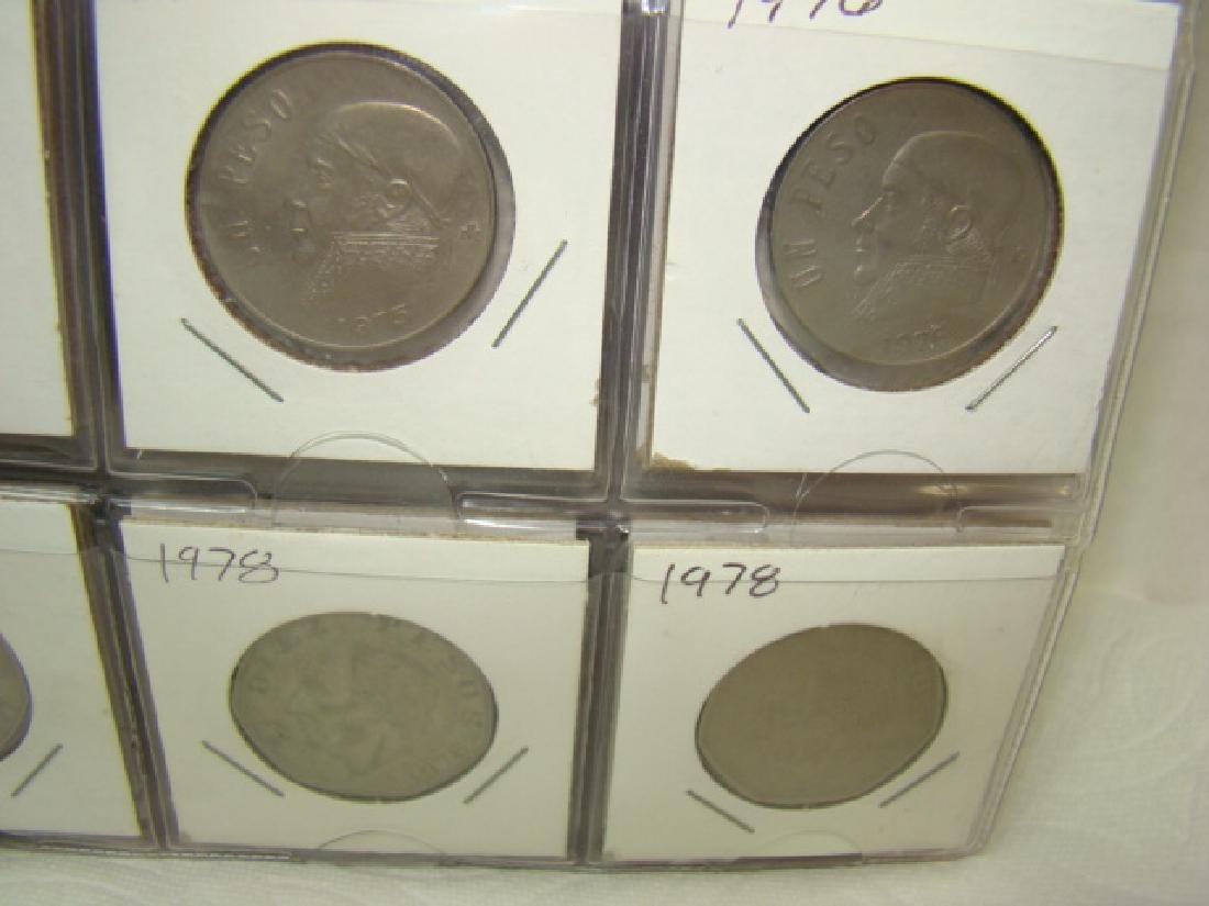 FOREIGN COINS IN BINDER - 5