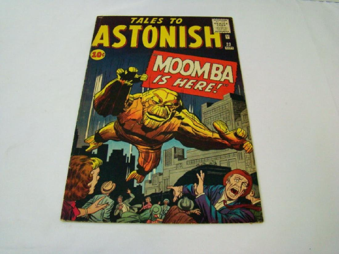 1961 TALES TO ASTONISH 10 CENT COMIC BOOK