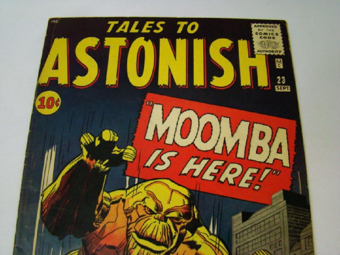 1961 TALES TO ASTONISH 10 CENT COMIC BOOK - 2