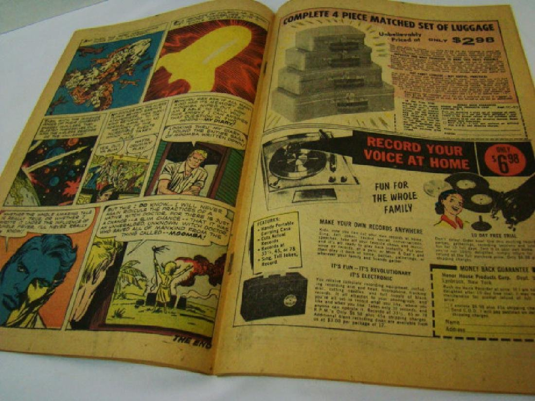 1961 TALES TO ASTONISH 10 CENT COMIC BOOK - 8