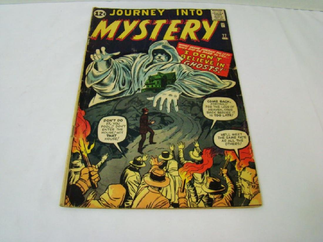 1962 JOURNEY INTO MYSTERY 12 CENT COMIC BOOK