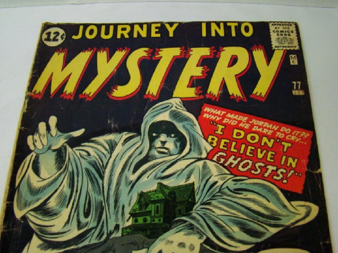 1962 JOURNEY INTO MYSTERY 12 CENT COMIC BOOK - 2