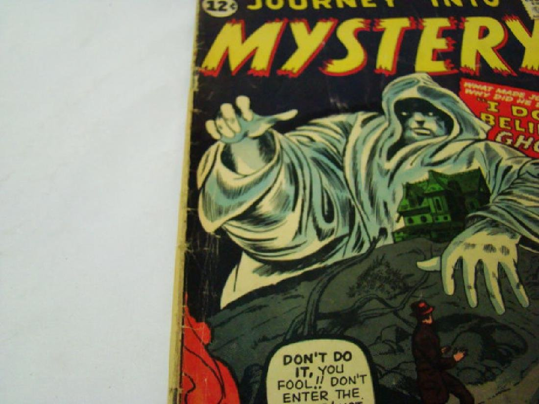 1962 JOURNEY INTO MYSTERY 12 CENT COMIC BOOK - 4