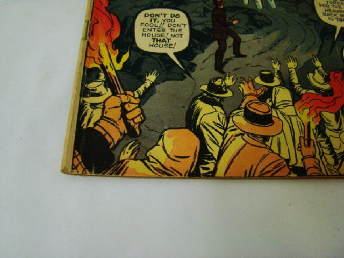 1962 JOURNEY INTO MYSTERY 12 CENT COMIC BOOK - 5