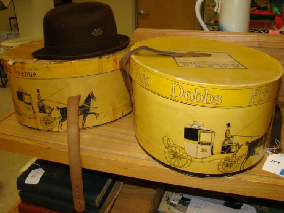 VINTAGE DOBBS HAT BOXES & WHITEHALL HAT