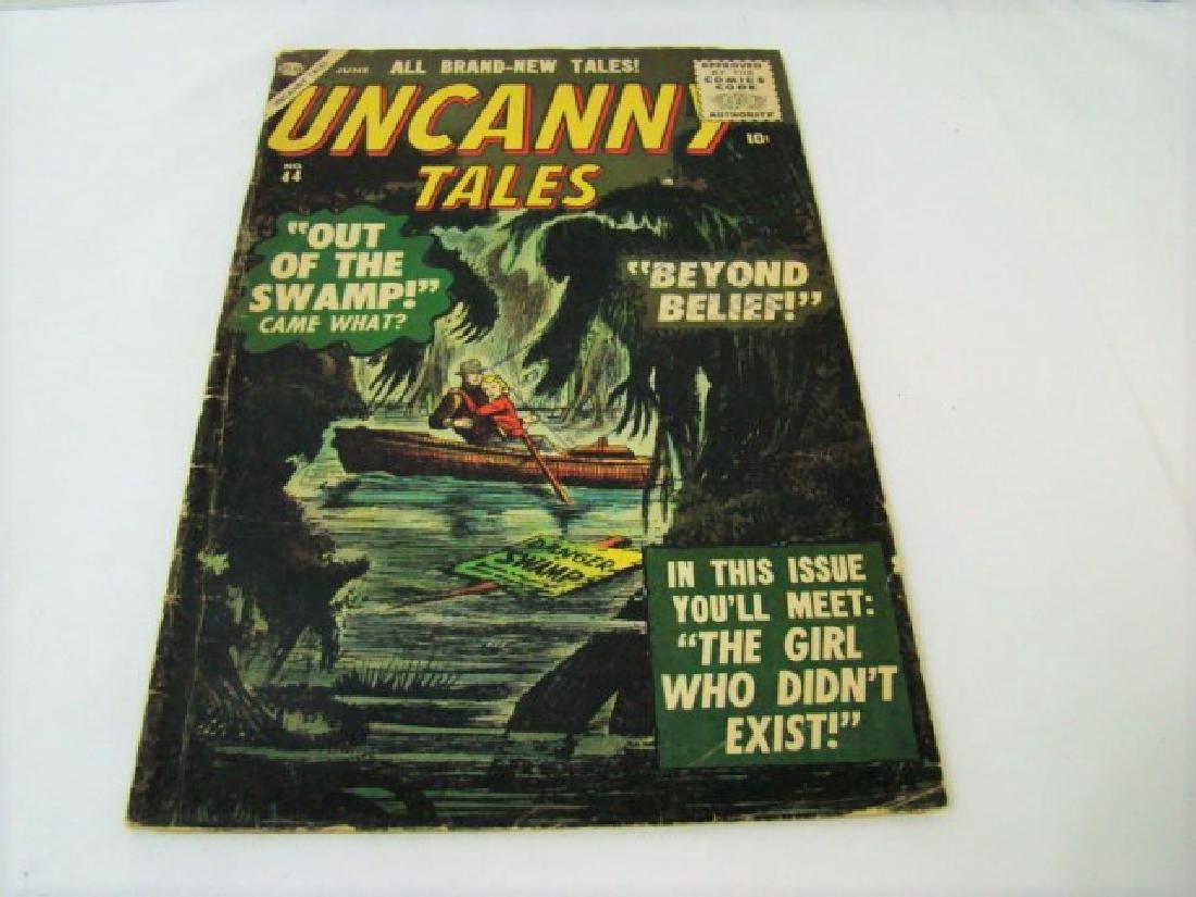 1956 UNCANNY TALES COMIC BOOK