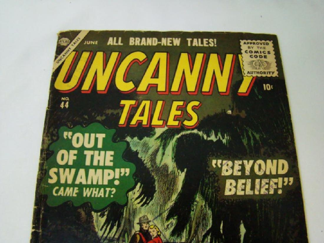 1956 UNCANNY TALES COMIC BOOK - 2